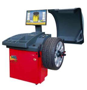B335 EVO wheel balancing machine