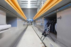 Prefabricated workshop service & inspection pits