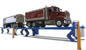OMER KAR250 twin truck knuckle lift