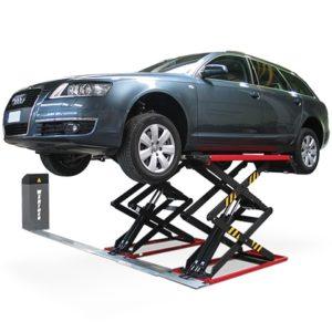 Stratos SRE Low profile hydraulic car lift
