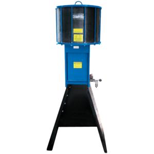 TC500 Pneumatic oil filter crusher