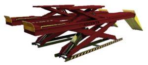WAS 5500LT – Wheel Alignment Scissor Lift