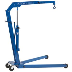 WJN5EUR / WJN10EUR Fold-away hydraulic workshop crane