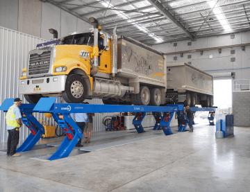 hydraulic lifting