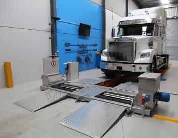 vehicle inspection equipment